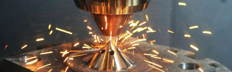 A photo of hybrid machining.